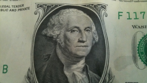 George Washington on a dollar bill (Photo: Thinkstock)