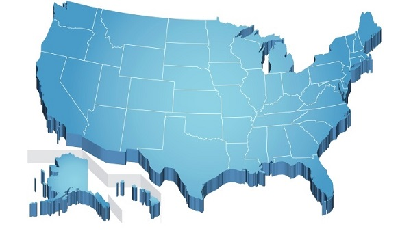 USA map (Image: Thinkstock)