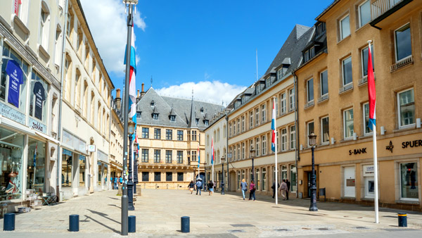 Grand Ducal Palace in Luxembourg City.