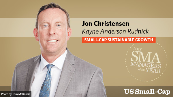 Jon Christensen, Kayne Anderson Rudnik US Small-Cap Small-Cap Sustainable Growth