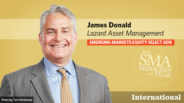 James Donald, Lazard Asset Management, International Emerging Markets Equity Select ADR