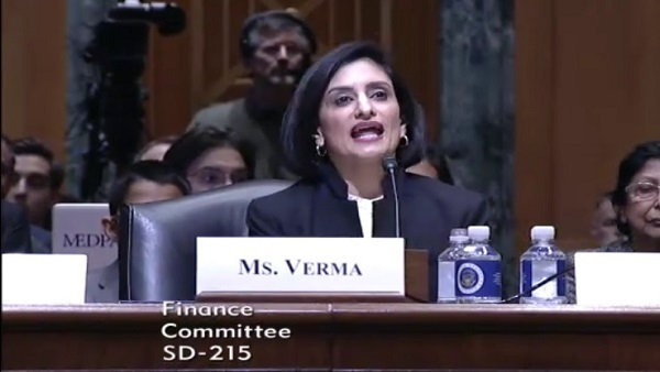 Seema Verma (Photo: Senate Finance)