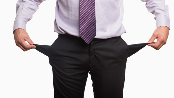 You can dig deeper into your pockets... if you have something in your pockets. (Image: Thinkstock)