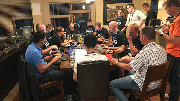 Developers at the Orion FUSE hackathon in Park City, Utah (Photo: Tim Welsh)