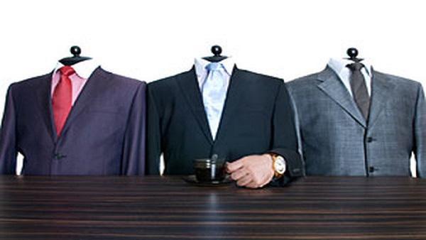 Three tailored suits (Image: Thinkstock)