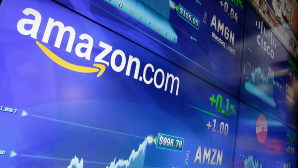 Amazon shares climbed above $1,000 in June; they now trade around $1,120. (Photo: AP)