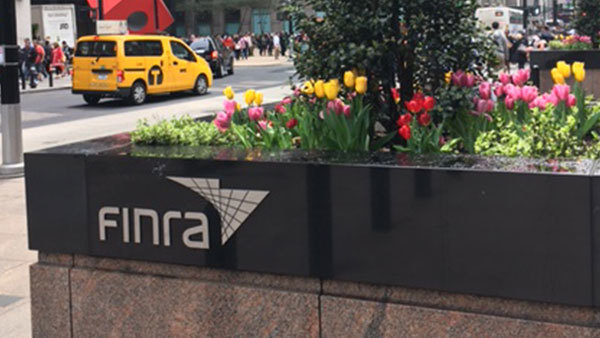 FINRA office in New York. (Photo: Ron Pechtimaldjian)