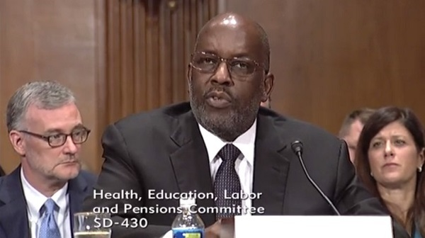 Bernard Tyson (Photo: Senate HELP)