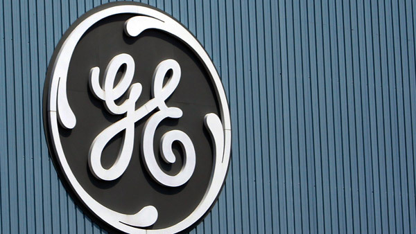 GE logo on a plant in France. (Photo: AP)