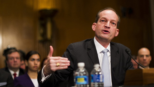 Labor Secretary Alexander Acosta (Photo: Diego Radzinschi)