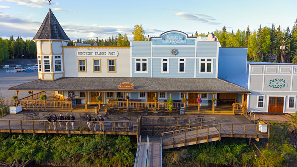 The Discovery Trading Post in Fairbanks.