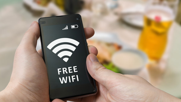 Avoid Unprotected Wi-Fi