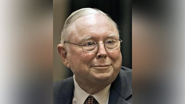 Charles Munger, vice chairman of Berkshire Hathaway, and author. (Photo: AP)