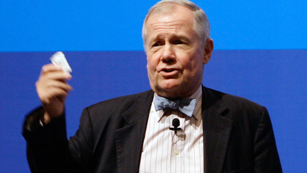 Jim Rogers, Chairman of Rogers Holdings and Beeland Interests, Inc. investor, and author. (Photo: AP)