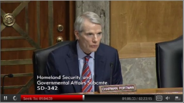 Sen. Rob Portman (Photo: Senate)