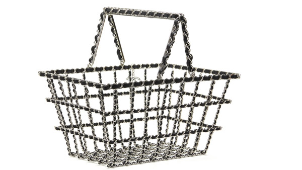 Vintage Chanel basket bag.