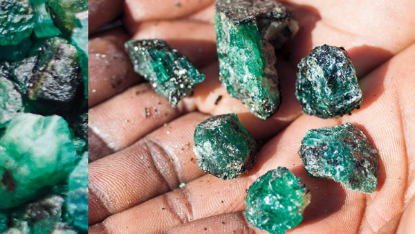 Stephen Webster experience and 7.2 carat emerald.