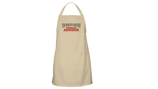 Barbeque Apron for Financial Advisors