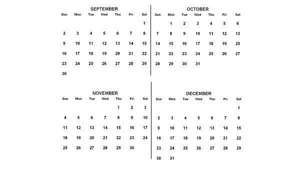 2018, September to December (Image: Anna Frodesiak/Wikimedia Commons PD)