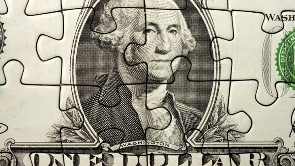 Dollar puzzle (Image: Thinkstock)